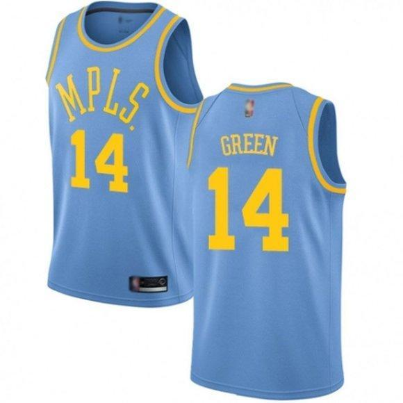 Los Angeles Lakers Danny Green Purple Jersey