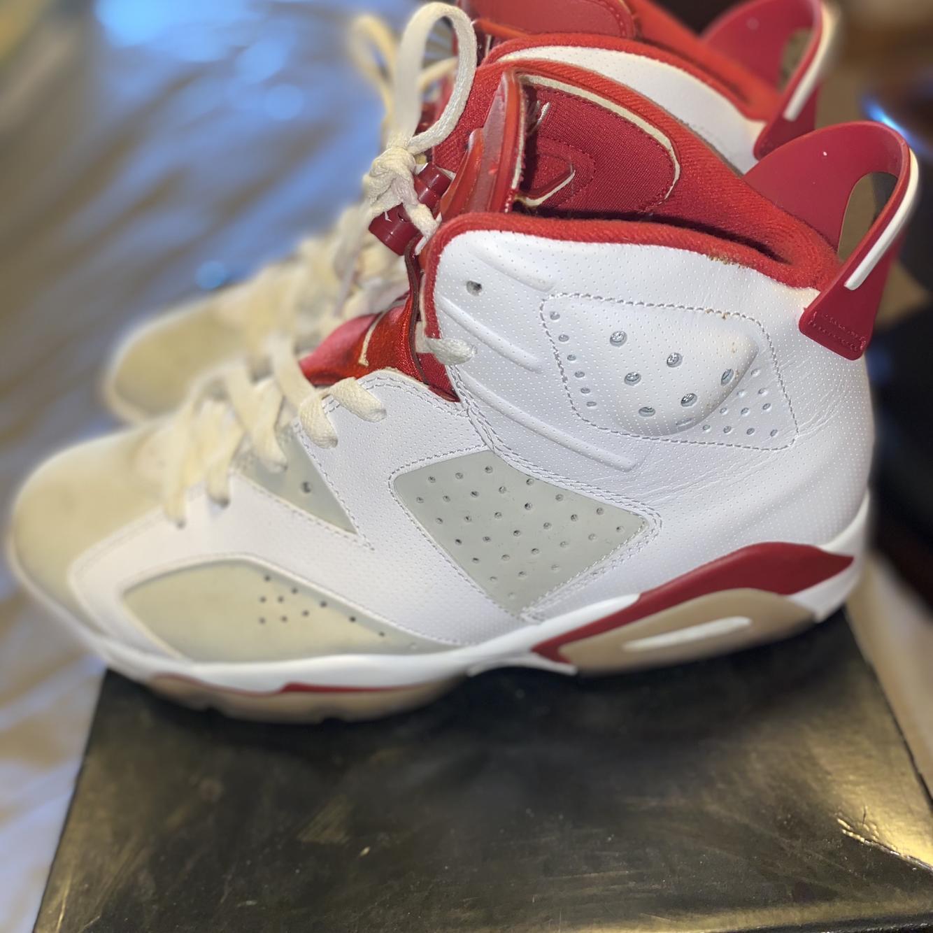 Air Jordan Gray Men's Size 8.5 (Women's