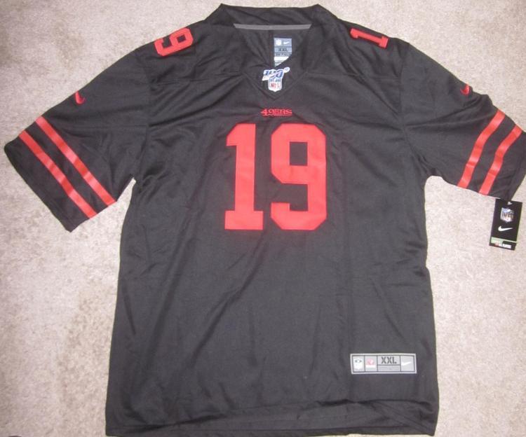 buy 49ers black jersey