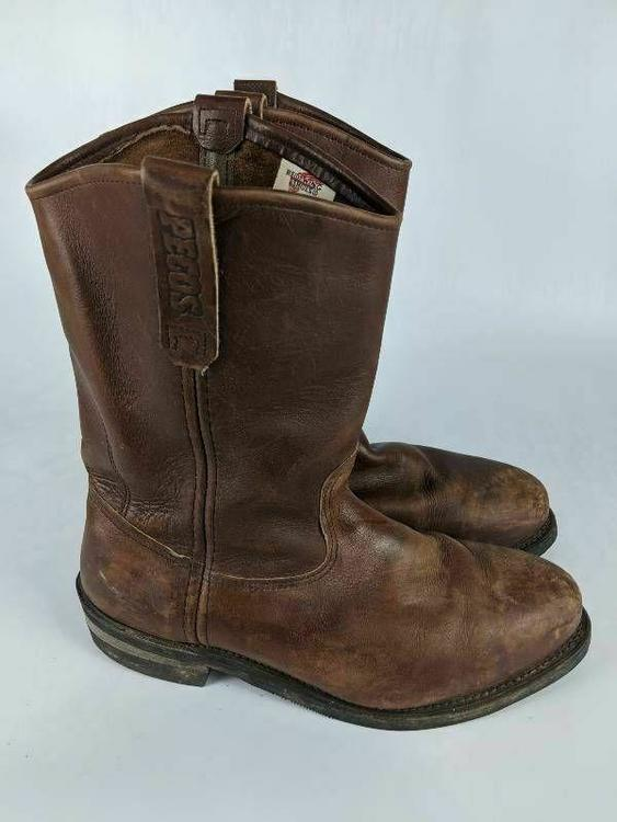 Red Wing Shoes Mens Pecos Western Work