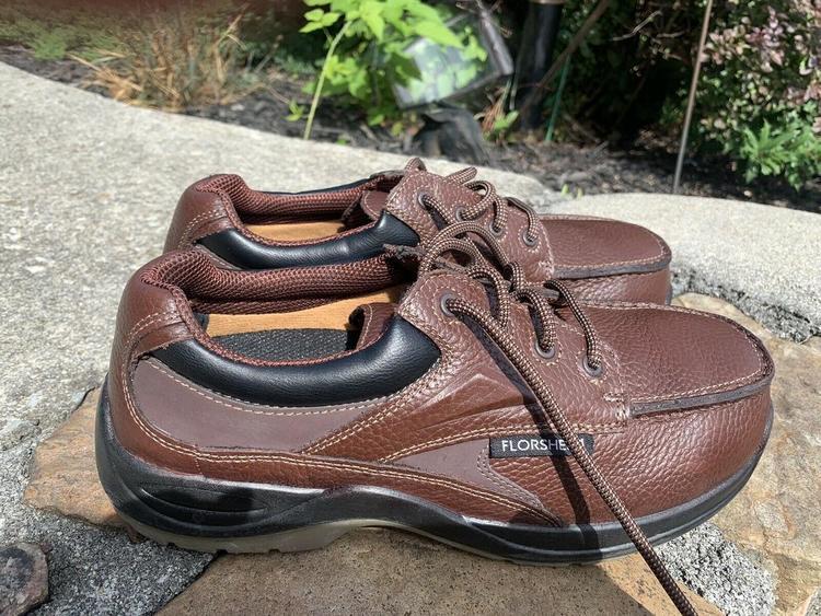 Florsheim Steel Toe Shoes 12 EEE Brown