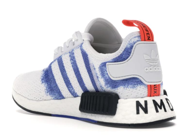 Adidas NMD R1 Bold Blue Stencil