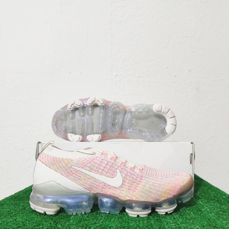 Nike Air Vapormax Flyknit 3 Pink Sunset Pulse Sneakers AJ6910-008 Size 6