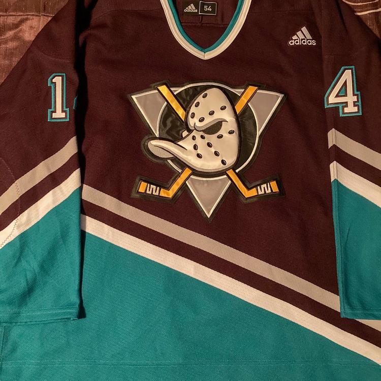 Adam Henrique Anaheim Ducks Adidas Mighty Ducks MiC Warm Up Jersey