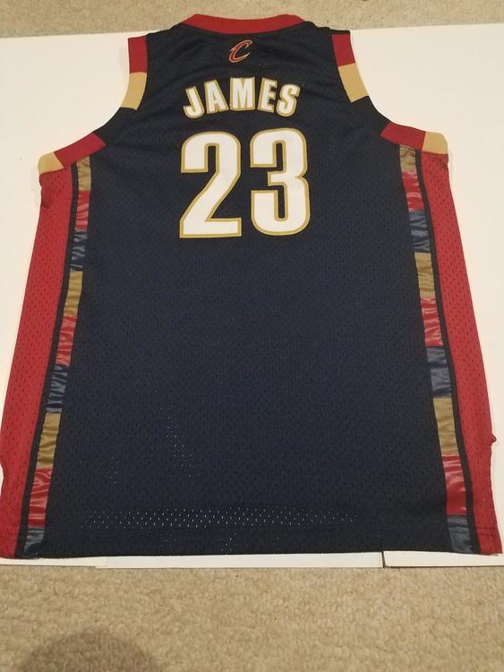 navy blue lebron james jersey