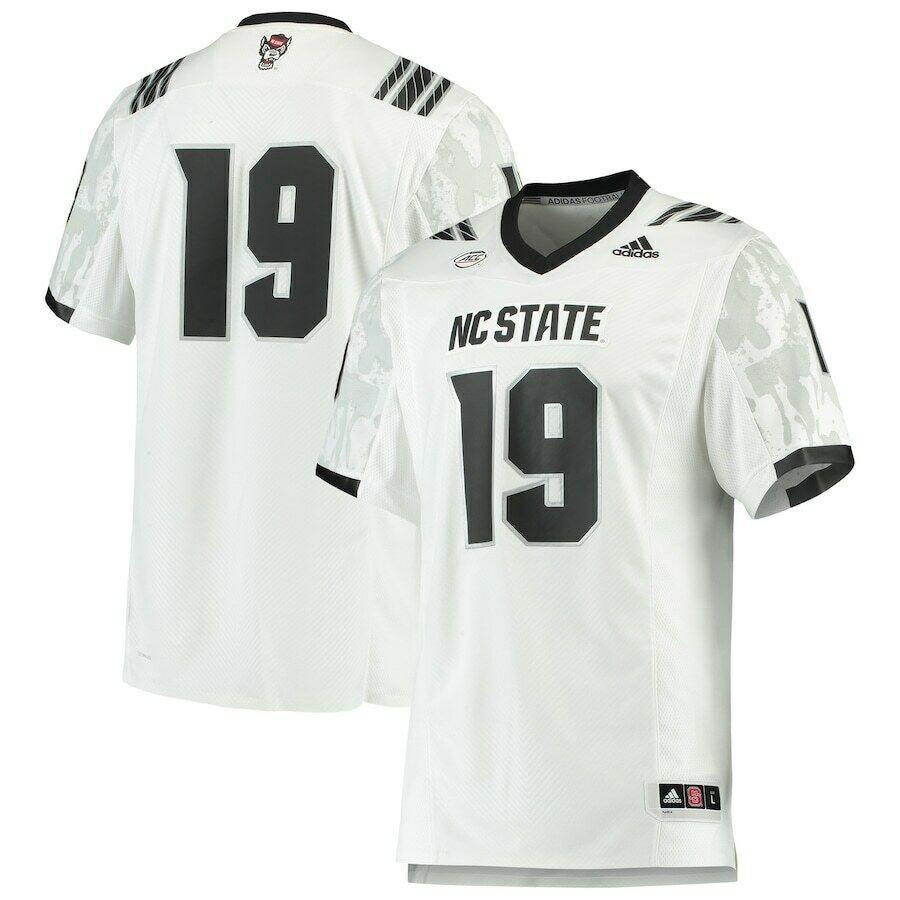 NC State Wolfpack Adidas #19 Strategy Football Jersey stitched 3XL ...