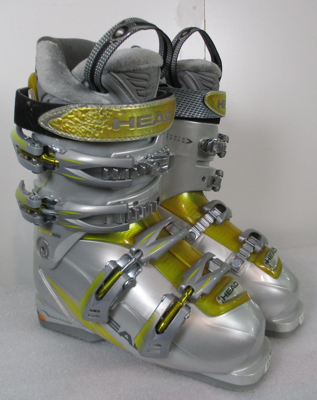 Head BYS Adult Ski Boots Size 8.5 Mondo 26.5 Used