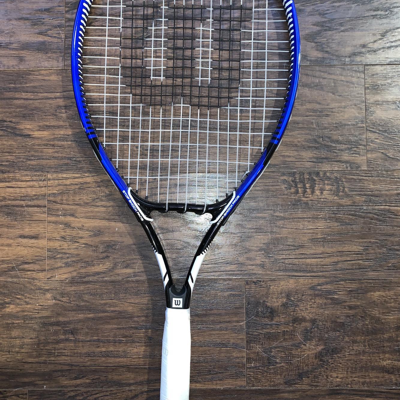 Wilson Men's OS Max Tennis Racquet | Tennis & Racquet Sports Racquets &  Paddles