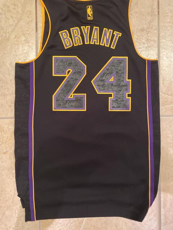 Limited Edition Kobe Bryant Black Adult (Small) Adidas Jersey | SidelineSwap