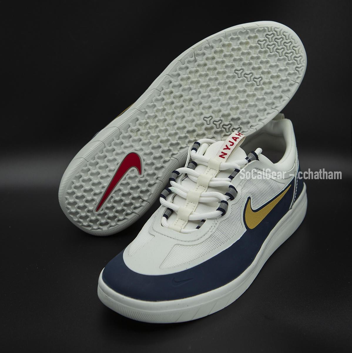 Nike SB Nyjah Free 2.0 Spiridon Olympic Skateboard Shoes Men's ...