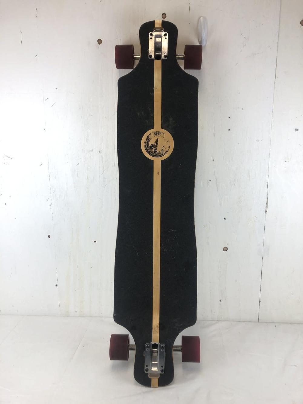 Used Yocaher Long Complete Drop Down Skateboard Longboard Sidelineswap