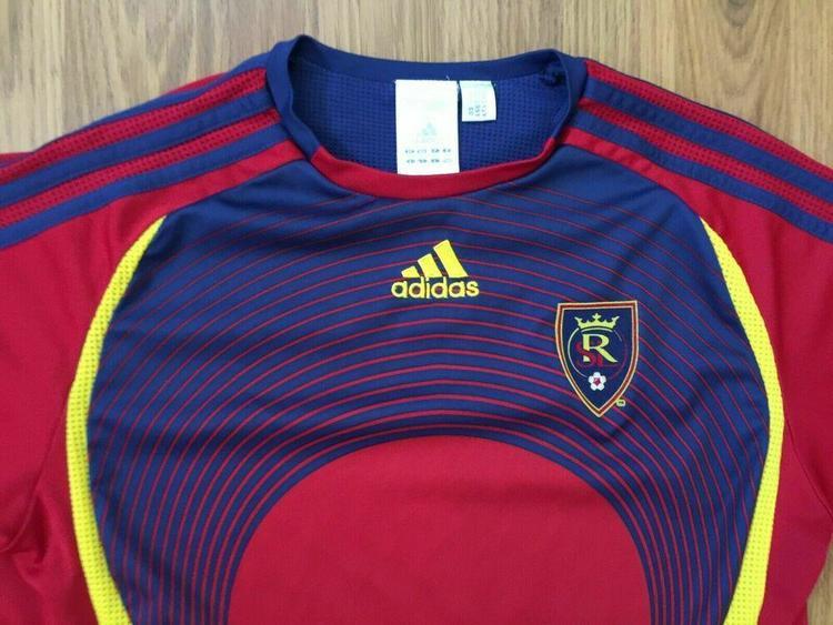 Real Salt Lake MLS SUPER AWESOME Adidas Kids Sz Large MAJOR LEAGUE SOCCER Jersey   SidelineSwap