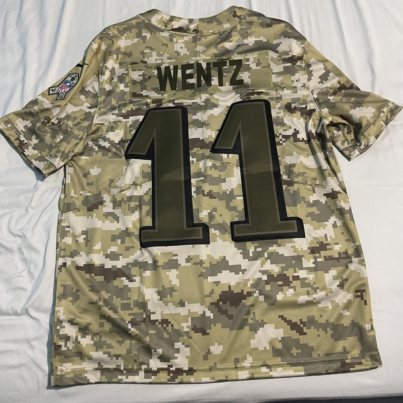 Eagles Salute To The Troops Wentz Jersey | SidelineSwap