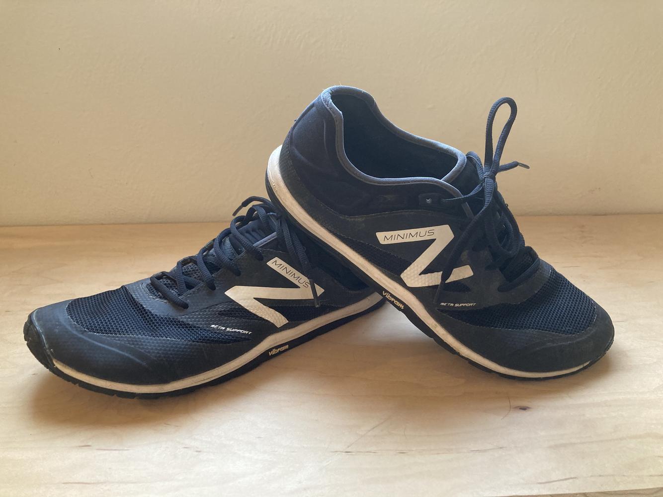 New Balance Minimus Shoes Black Barely Used - Men's Size 12 ...