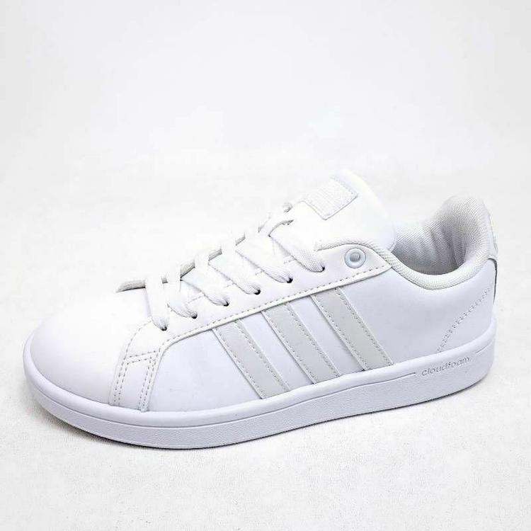 Adidas Womens Size 6 Shoes Neo Cloudfoam Advantage Trainer White AW4286