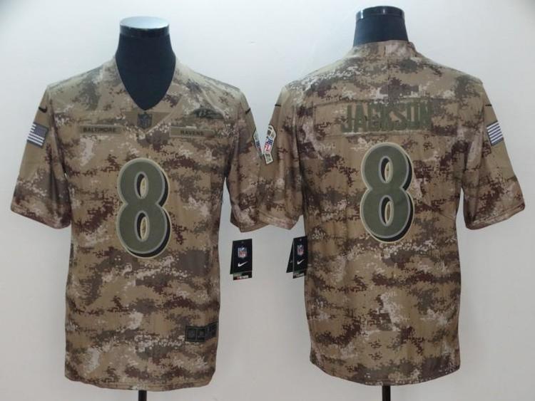 Baltimore Ravens Lamar Jackson NFL 8 Jersey