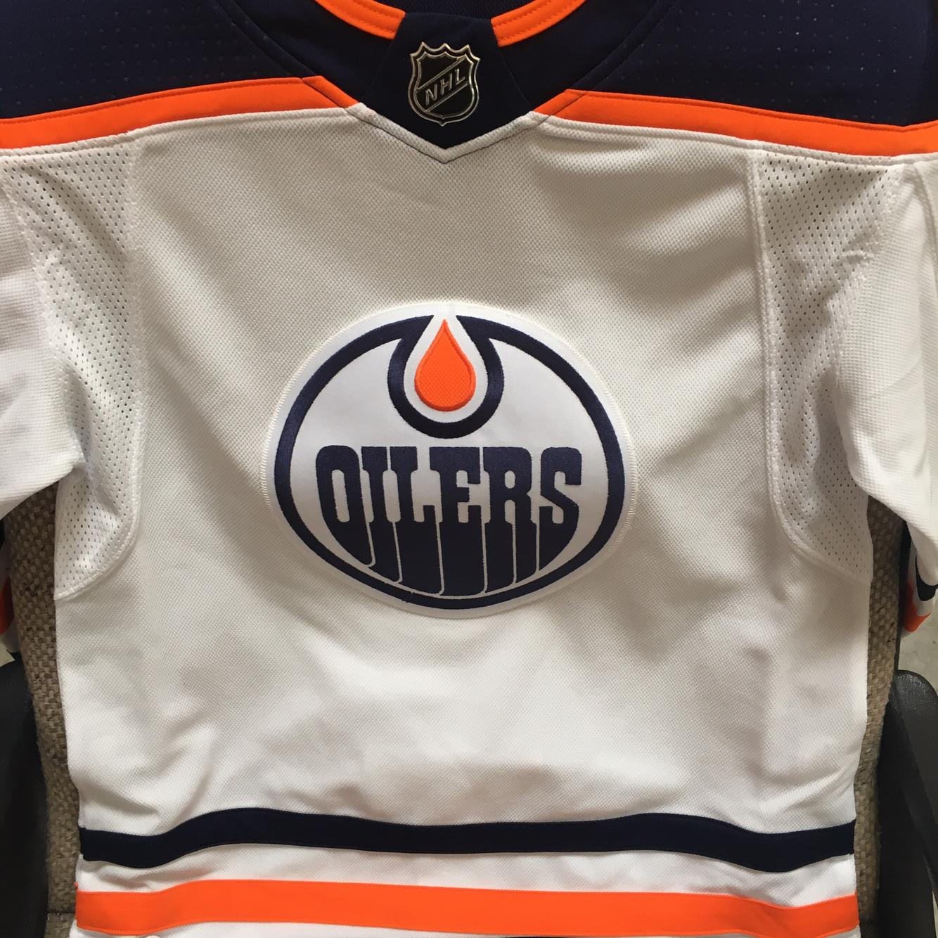 Adidas Edmonton Oilers White Adult Size 44 (XS) Jersey   Hockey ...