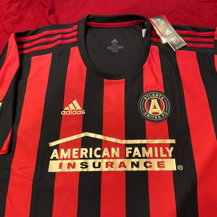 MLS Atlanta United FC Black Adidas 3XL Soccer Jersey * NWT NEW | SidelineSwap