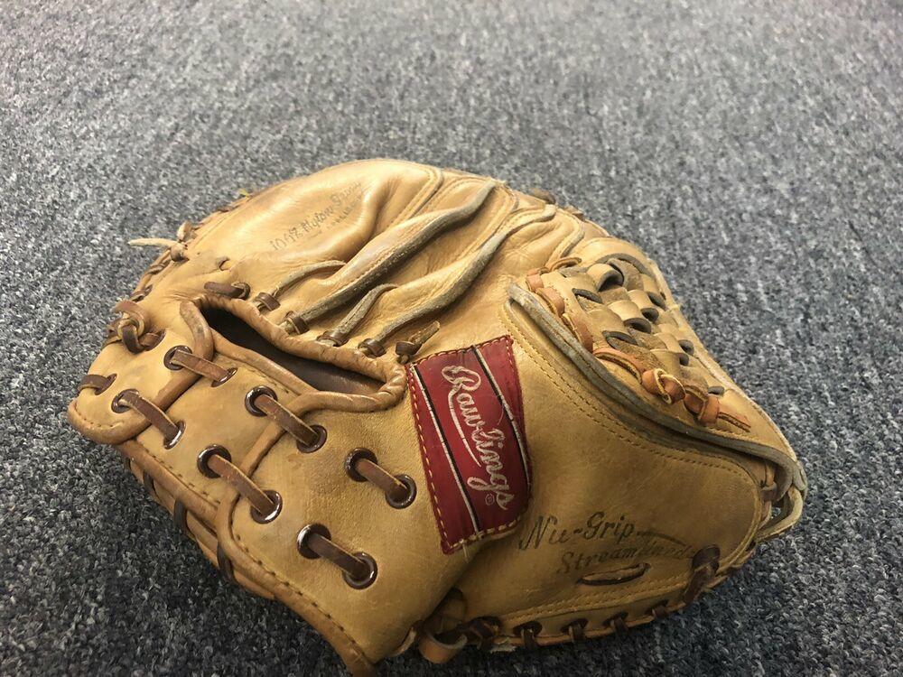 Details about  /Rawlings USA PRO-CMHC Heart GOLD GLOVE SERIES First base mitt HORWEEN 1989 LHT