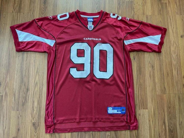 Arizona Cardinals Darnell Dockett #90 NFL SUPER AWESOME Size L Football Jersey!