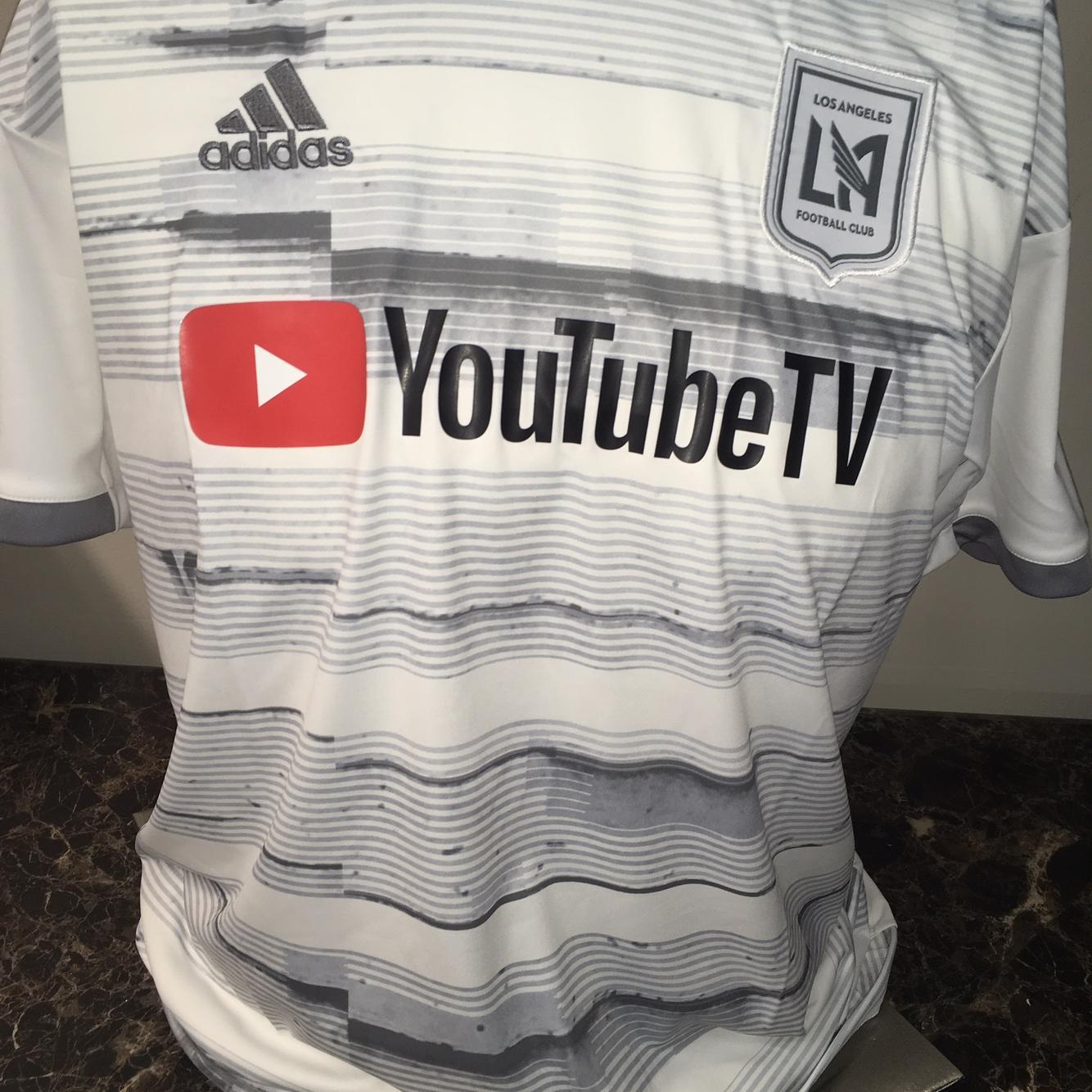 Adidas MLS LAFC Football Club 20/21 Alternate Away Jersey Large ...