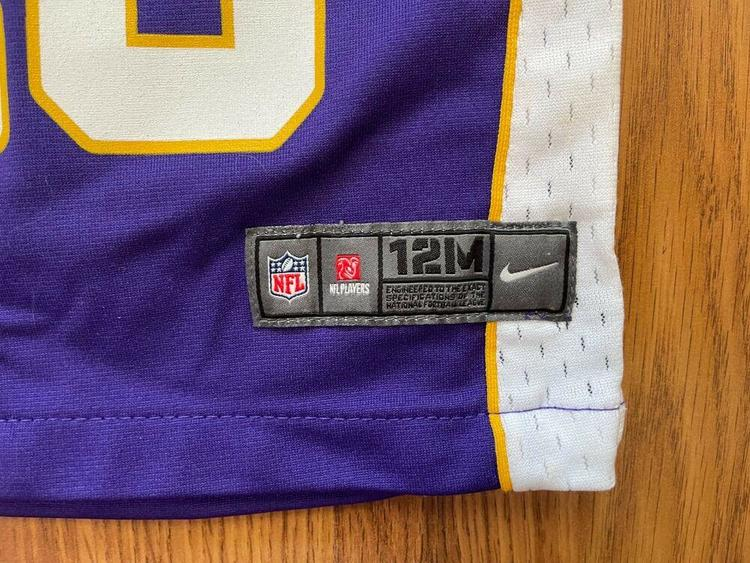 Minnesota Vikings Adrian Peterson #28 NFL Infant Size 12M Baby Football Jersey!   SidelineSwap