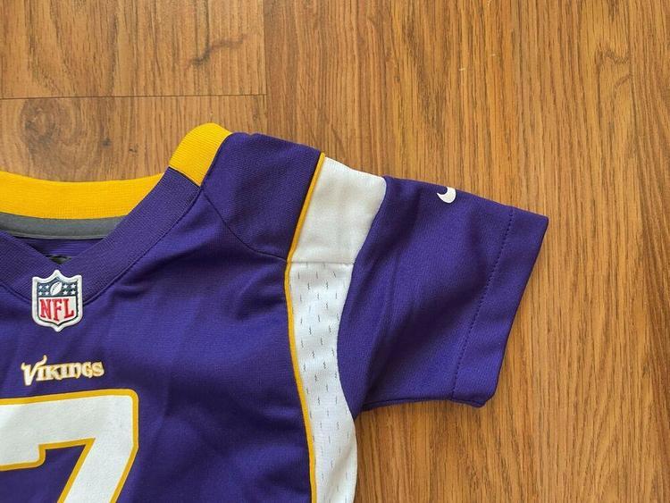 Minnesota Vikings Christian Ponder #7 NFL Infant Size 12M Baby Football Jersey!   SidelineSwap