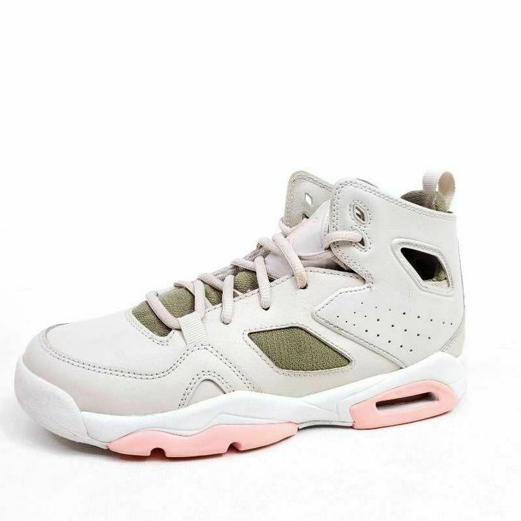 Nike Air Jordan Flight Club 91 Youth 5Y Womens Size 6.5 Shoes Beige 555333-101