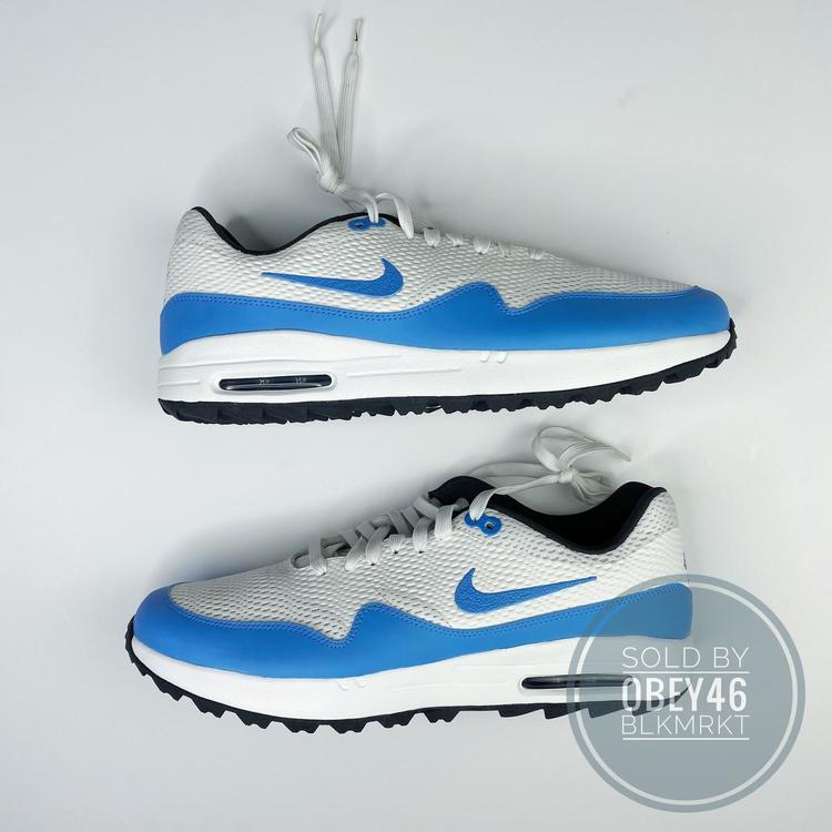 Air Max 1 Golf 'White University Blue'