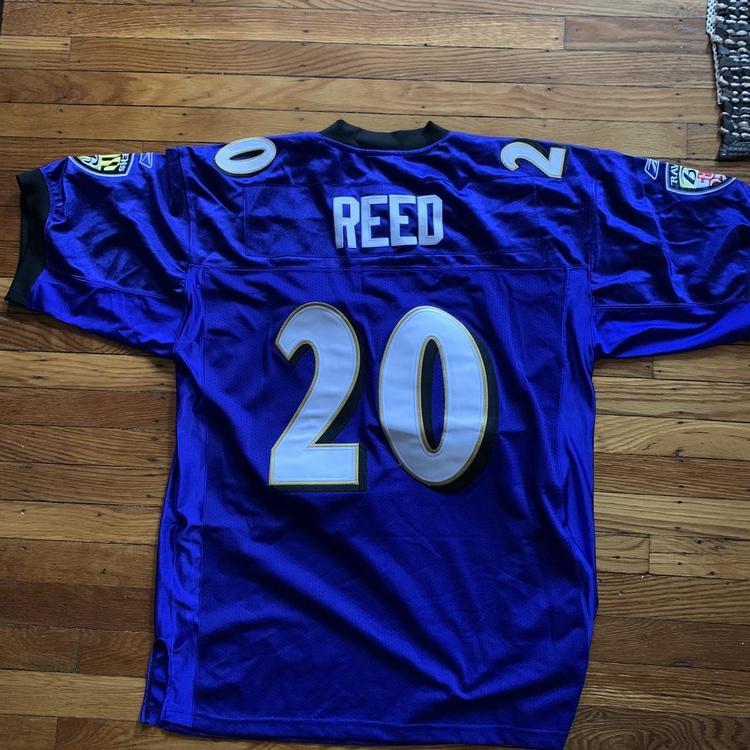 Ravens Ed Reed Purple Adult Size 50 Reebok Jersey | SidelineSwap