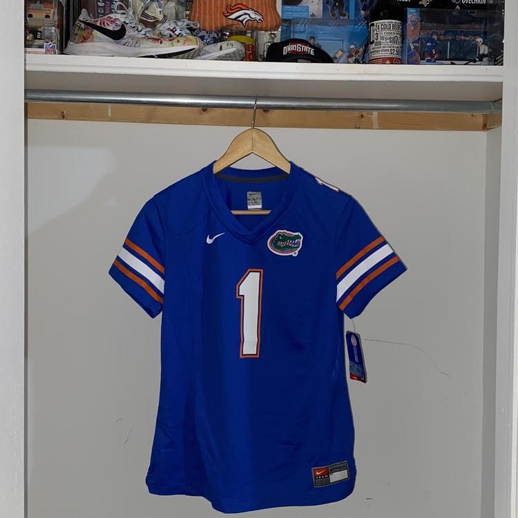 Florida Gators Authentic Nike NCAA SEC Jersey - Blue - Men's Medium
