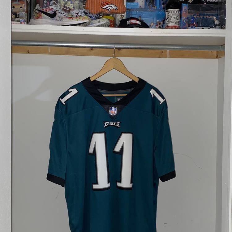 NWT Carson Wentz Philadelphia Eagles Authentic Nike NFL Jersey - Green - Men's XXL