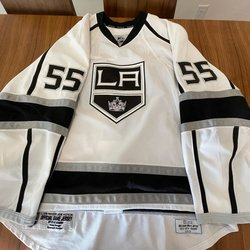 PITTSBURGH PENGUINS 2012 White Reebok PRO Stock Player Game Issued Jersey 58 NEW