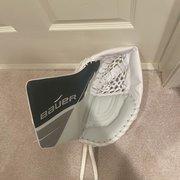 BRAND NEW Green Senior Regular Ultrasonic Pro Stock Goalie Glove