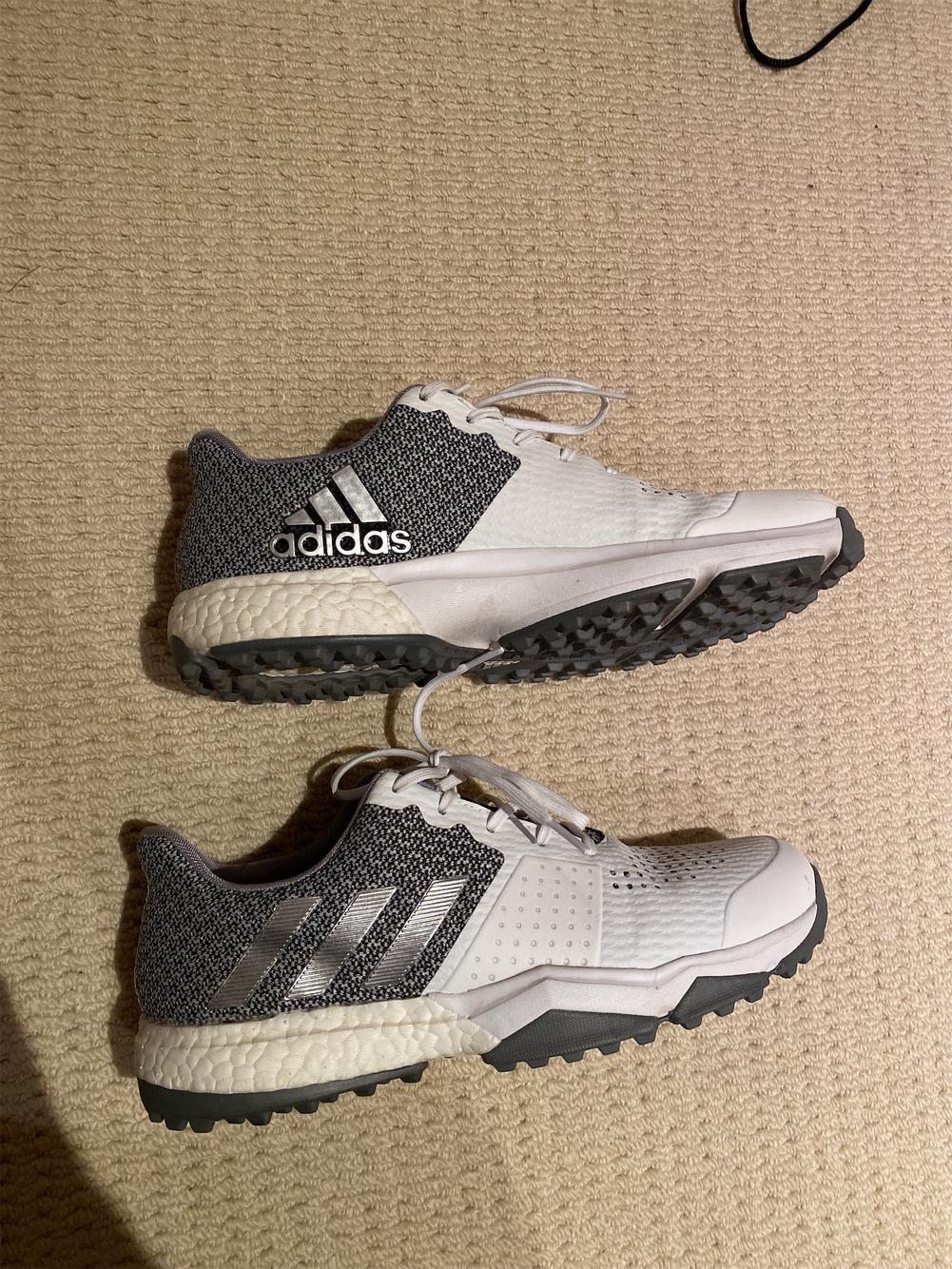 White Men's Size 9.0 (Women's 10) Adidas Golf Shoes | SidelineSwap