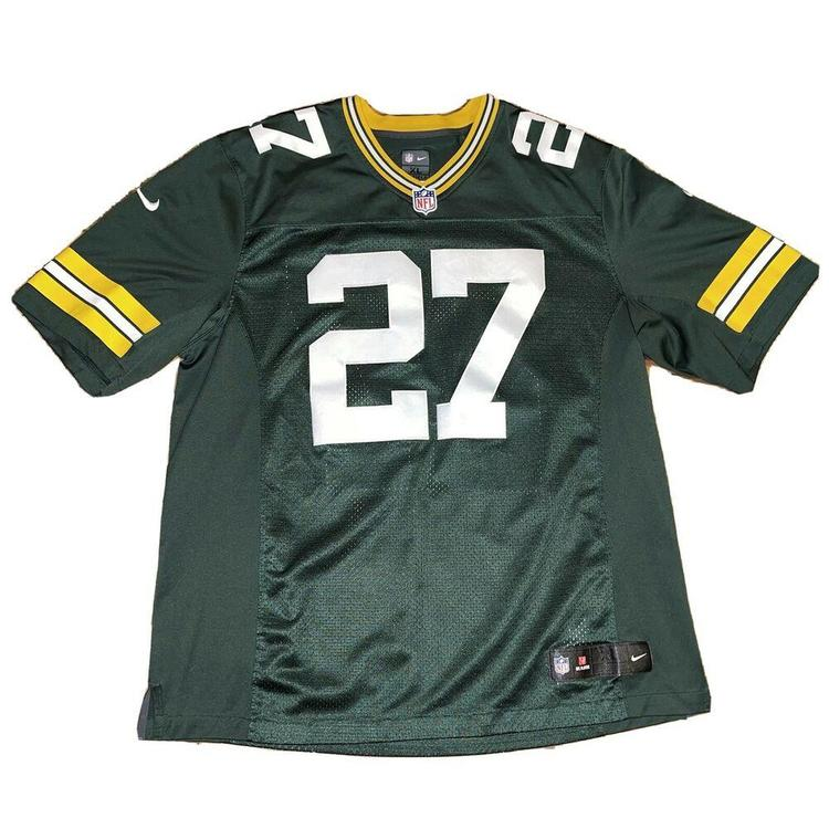 Green Bay Packers Stitched Eddie Lacy Nike On Field NFL Jersey Size Men's XL