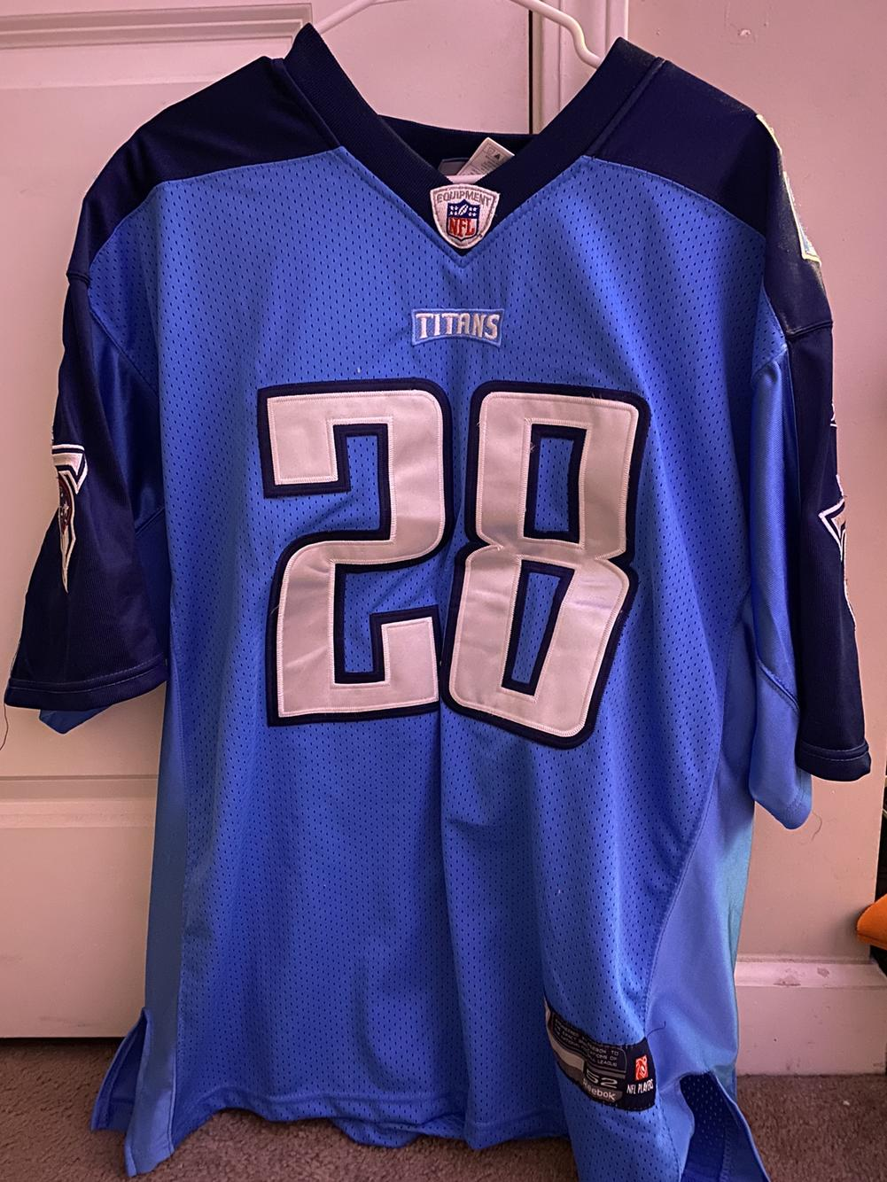 Chris Johnson Titans Jersey