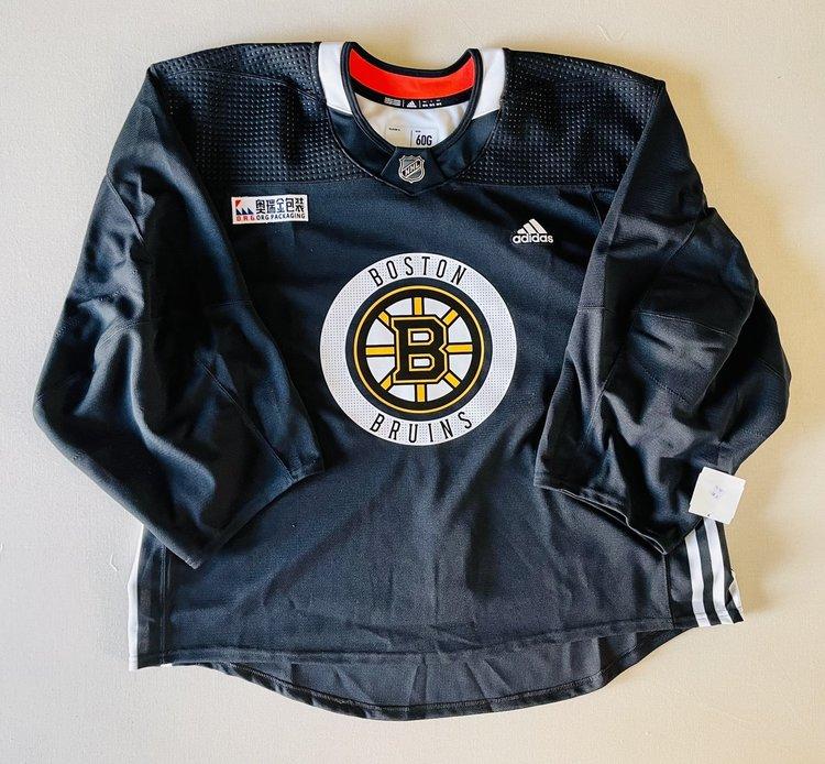 Boston Bruins Adidas 60G Goalie Practice Jersey