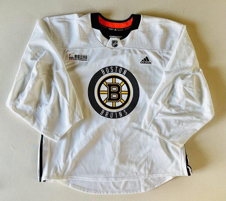Boston Bruins Adidas 60G Adidas Goalie Practice Jersey