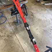 Atomic SL World Cup Skis from the factory in Austria
