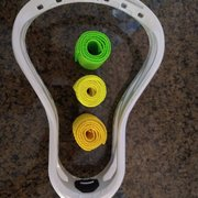 SALE $29 SALE! Brand New 'White' STX Unstrung Hammer Omega Lacrosse Head + 1 FREE MESH
