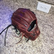 "Red Used High School/College Nike Right Hand Throw Pitcher's Diamond Elite Baseball Glove 11.5"""