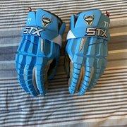Cade Van Raaphorst Game Worn PLL Atlas LC STX Surgeon RZR Gloves