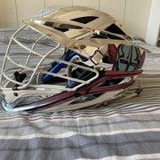 Chrome PLL Chrome LC Game Worn Cascade XRS Helmet