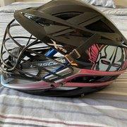 PLL Chrome LC Game Worn Black Cascade XRS Helmet