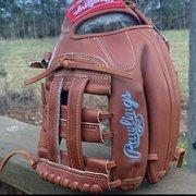 "Used Rawlings Right Hand Throw Pro Preferred Baseball Glove 11.75"""